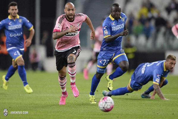 La Juventus a été tenu en échec à domicil contre le promue de Frosinone.