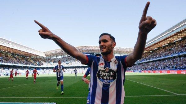 Grande triunfo del Deportivo contra el Espanyol en el estadio de Riazor.