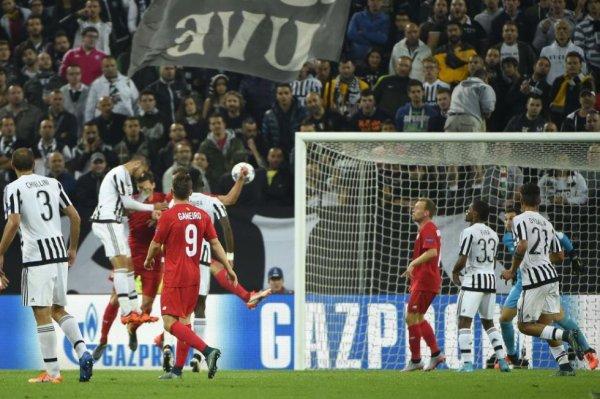 Magnifique exploit de la Juventus qui s'est bien imposé à domicil contre Séville.
