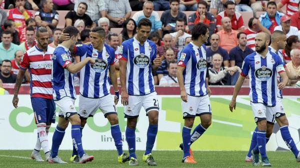 Le Deportivo ramène un point précieux de son déplacement sur la pelouse à Granada.