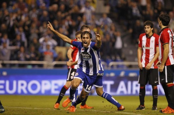 Le Deportivo a pu éviter la défaite en faisant match nul à domicil contre l'Athletic.
