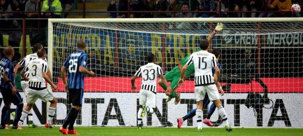 La Juventus a obtenur un bon point précieux sur la pelouse de l'Inter en faisant un nul