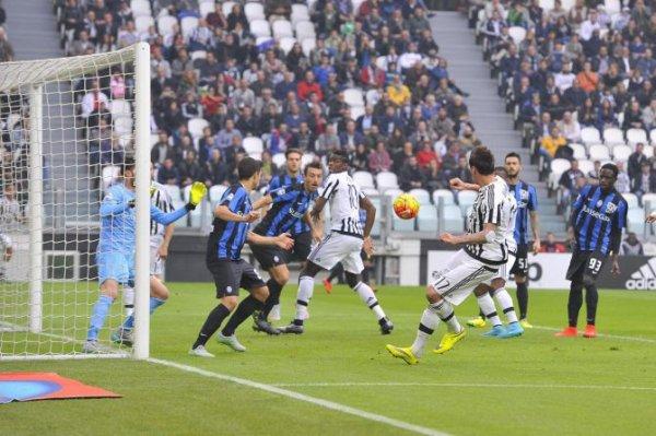 Magnifique victoire de la Juventus à domicil contre l'Atalanta au Juventus Stadium.