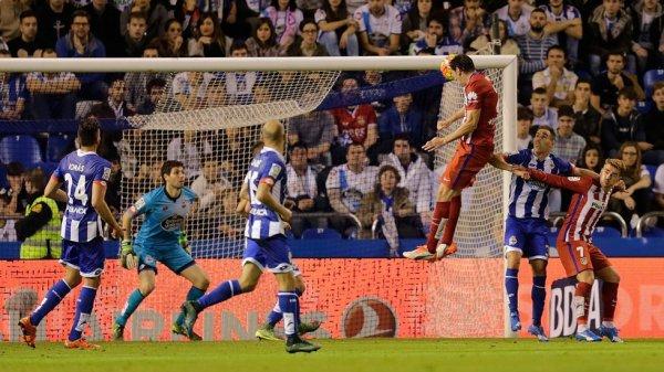 El Deportivo consiguio obtener un buen resultado contra el Atlético de Madrid en Riazor.