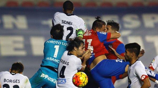 El Deportivo pudo obtener un buen resultado positivo al empatar en el campo de Levante