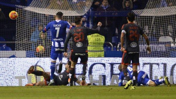El Deportivo consiguio una victoria magistral contra el Celta en el derby gallego a Riazor.