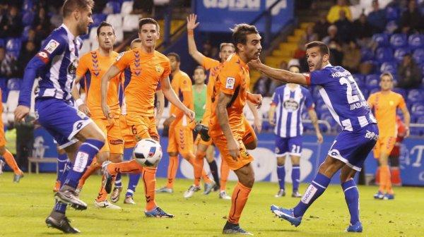 El Deportivo se clasifico para los octavos de fnal la Copa al empatar contra el Llagostera.