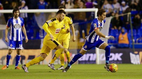 El Deportivo termina bien el ano 2015 con una victoria importante contra el Eibar.