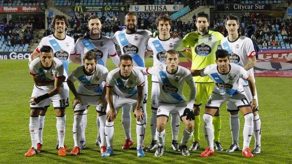 El Deportivo termina el ano 2015 con un empate en su visita en el campo del Getafe.