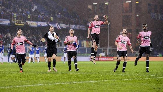 Magnifique exploit de la Juventus qui remporte une précieuse victoire à la Sampdoria.