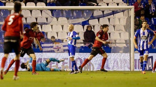 El Deportivo quedo eliminado de la Copa del Rey al perder contra el Mirandés en Riazor.