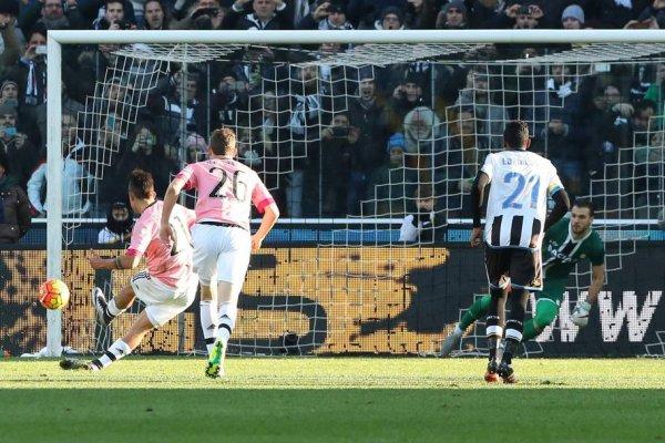 Bella victoria de la Juventus è important sul campo del l'Udinese al Friulini