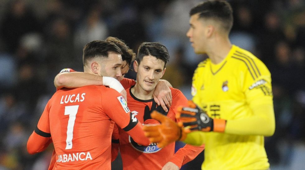 El Deportivo consiguio un punto valioso en su visita en Anoeta contra la Real Sociedad.