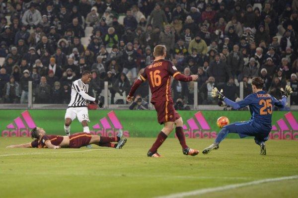 La Juventus a avuto la dificulta per vincere contra la Roma allo Stadium Juventus.