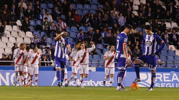Otra vez el Deportivo no ha podido ganar al empatar contra el Rayo en Riazor.