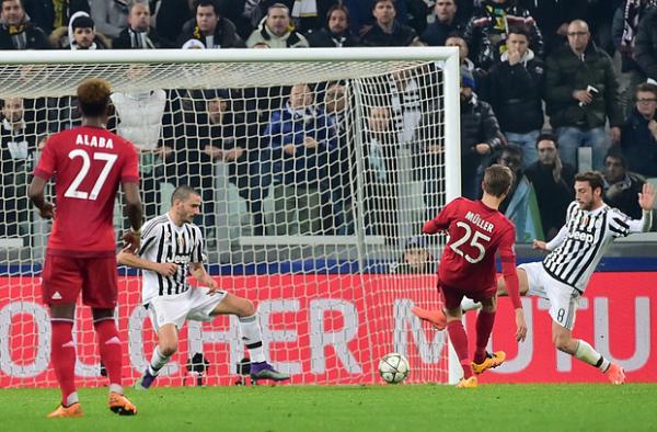 La Juventus n'a pas pu gagner à domicil en faisant match nul contre le Bayern Munich.
