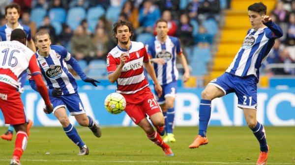 El Deportivo esta travensado un mal momento al perder contra el Granada en Riazor.