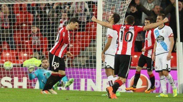 El Deportivo no levanta la cabeza al caer derrotado en el campo del Athletic San Mames.
