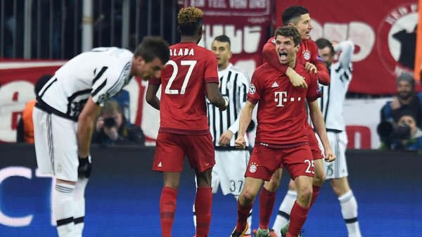 La Juventus a été éliminé mais avec l'honneur sur la pelouse de Bayern en prolongation.