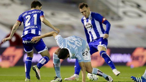 El Deportivo consiguio llevar un punto valioso en el campo del Celta en el derbi gallego.