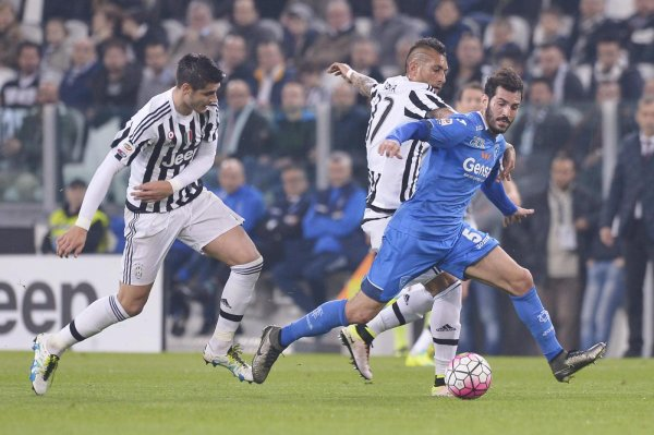 La Juventus a eu vraiment de la peine à domicil pour gagner contre l'Empoli.