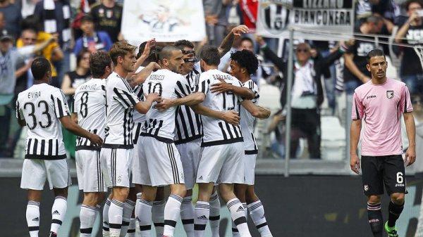 Magnifique exploit de la Juventus qui s'est bien imposée à domicil contre Palerme.