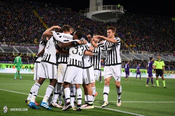 Magnifique exploit de la Juventus qui s'est imposée sur la pelouse de la Fiorentina.