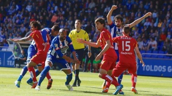 El Deportivo se complica la vida por la permanecia al perder contra el Getafe en Riazor.