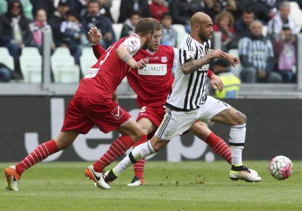 La Juventus a pu célèbre son titre de champion en offrant une victoire contre Carpi.