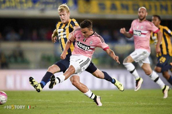 La Juventus a perso sul campo delle Hellas Verona per la penultima giornata.