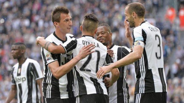 Pour son dernier match de la Série A la Juventus s'est imposée contre la Sampdoria.