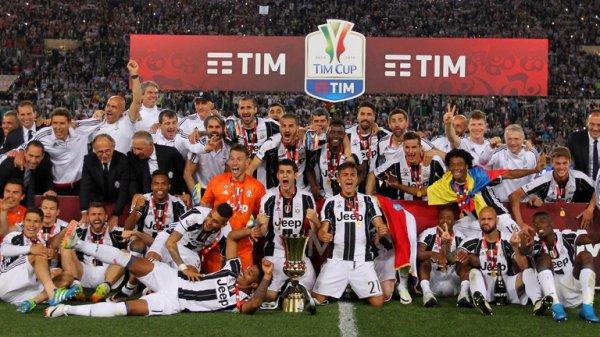 La Juventus remporte sa 11 Coupe d'Italie en battan le Milan en prolongation à Rome.