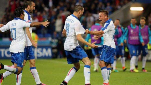 Magistral victoire de l'Italie qui a bien débuté la compétition en battant la Belgique.