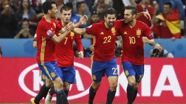 Magistral victoire de l'Espagne qui s'est fait un régal contre l'équipe de la Turquie.