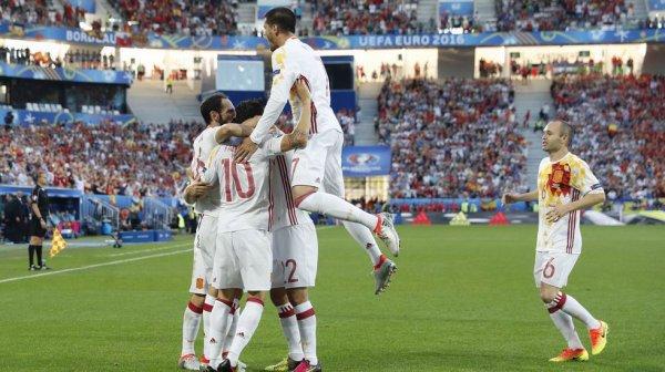 Mauvaise opération de l'Espagne qui s'incline contre la Croatie et perd le lider du groupe