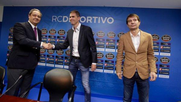 Gaizka Garitano nuevo entrenador del Deportivo por una temporada.