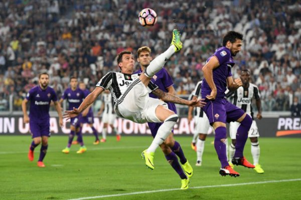 Première victoire de la Juventus pour son début de la Série A Tim contre la Fiorentina.