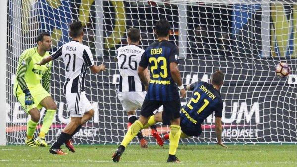 La Juventus a subi sa 1 défaite de la saison en perdant sur la pelouse de l'Inter.
