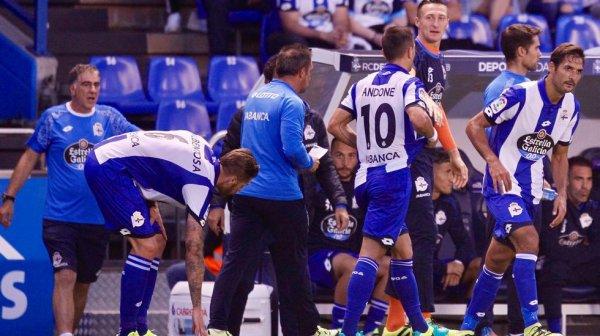 El Deportivo volvio a perder otra vez en su campo contra el Leganés en el estadio Riazor