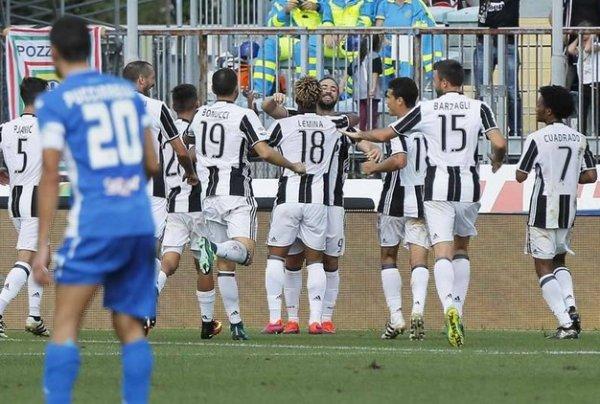 Une victoire importante de la Juventus qui a fait le nécessaire sur la pelouse de l'Empoli.