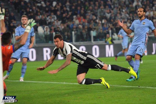 La Juventus renoue avec le succès en s'imposant à domicil contre la Sampdoria.