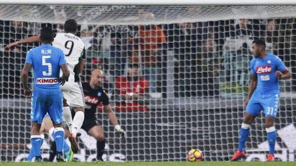 Très bonne opération de la Juventus qui s'est imposé à domicil contre Napoli.