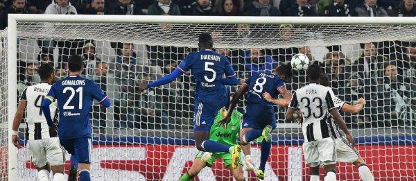La Juventus a été tenu en échec à domicil contre Lyon pour la Ligue des Champions.