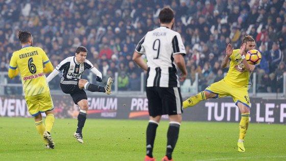 La Juventus s'envole un peu plus avec une victoire écrasante à domicil contre Pescara.