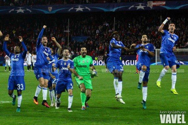Bonne opération de la Juventus qui a arrachée sa qualification en s'imposant à Sevilla.