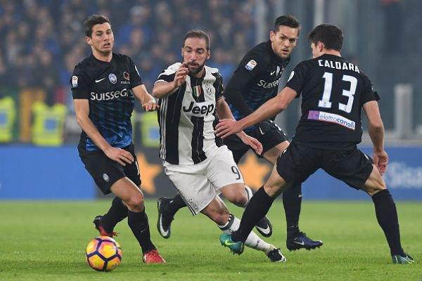 Victoire de la Juventus qui n'a pas eu de problème pour venir à bout contre l'Atalanta.