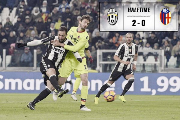 La Juventus a signée une victoire écrasante à domicil contre Bologne.