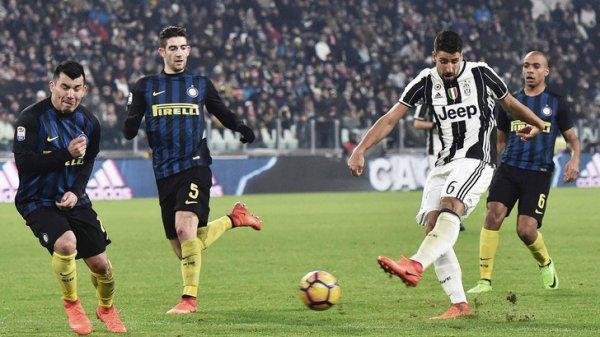 La Juventus a obtenue une victoire difficile à domicil contre l'Inter.