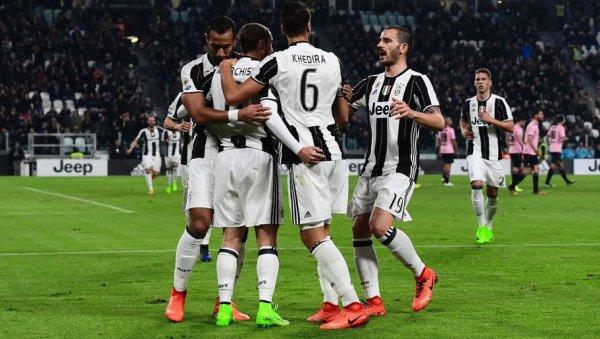 Magnifique victoire de la Juventus qui s'est imposée largement à domicil contre Palerme.