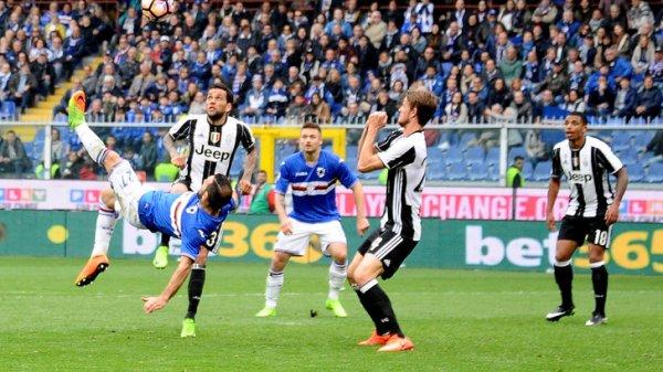 La Juventus a remporté une victoire souffrante sur la pelouse de la Sampdoria.